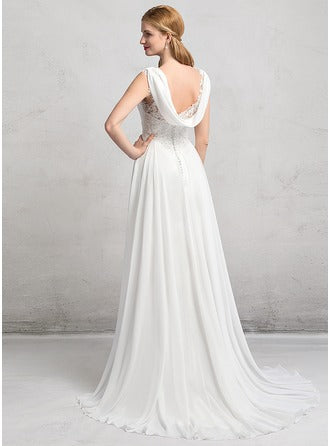 long wedding dress