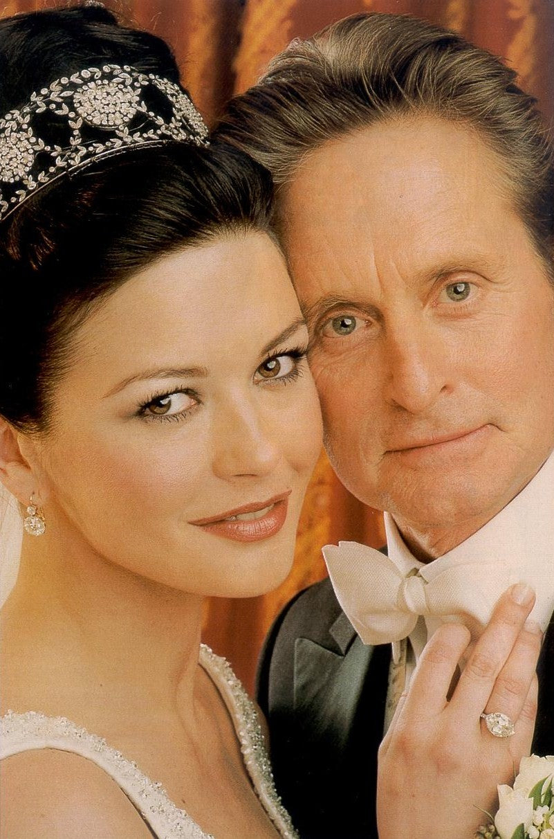 Catherine Zeta Jones & Michael Douglas