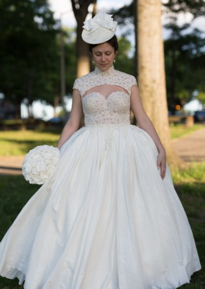 Dress by Lindsay Hinz of Astoria, New York