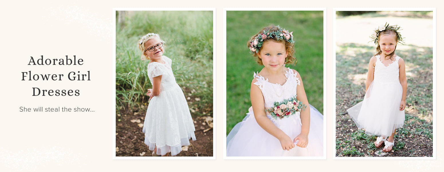 Adorable Flower Girl Dresses You'll Love!