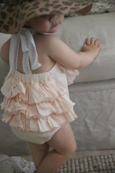 The ulitmate baby boho sunsuit