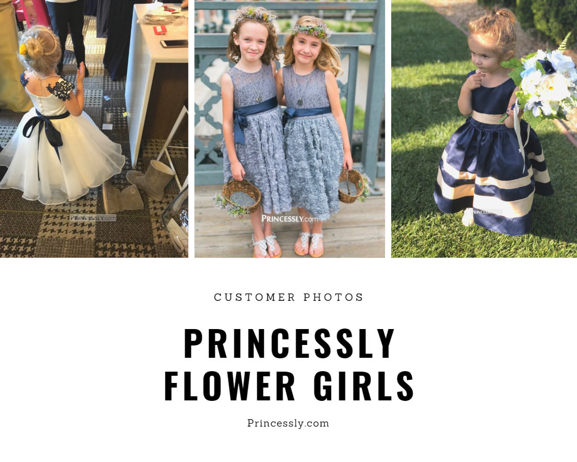 Flower Girl Dresses by Princessly