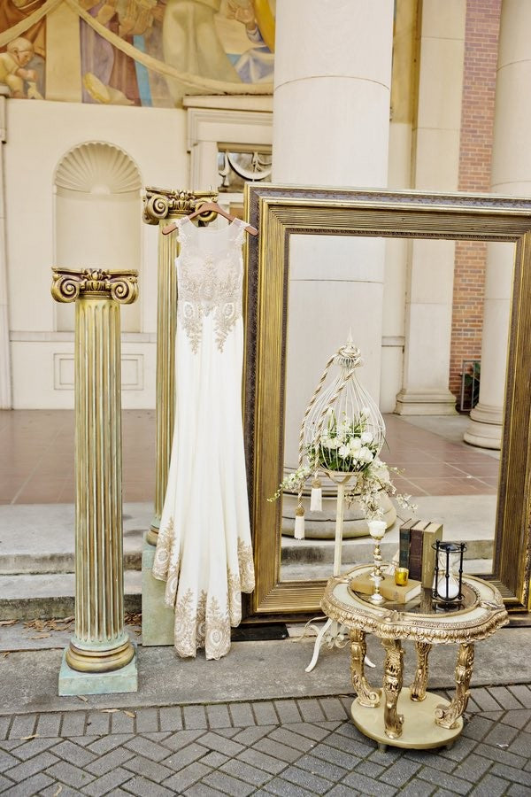 roman themed wedding