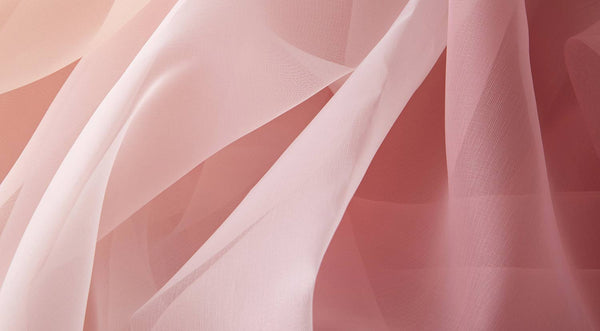 Pink fabric used in Korean bojagi wrapping