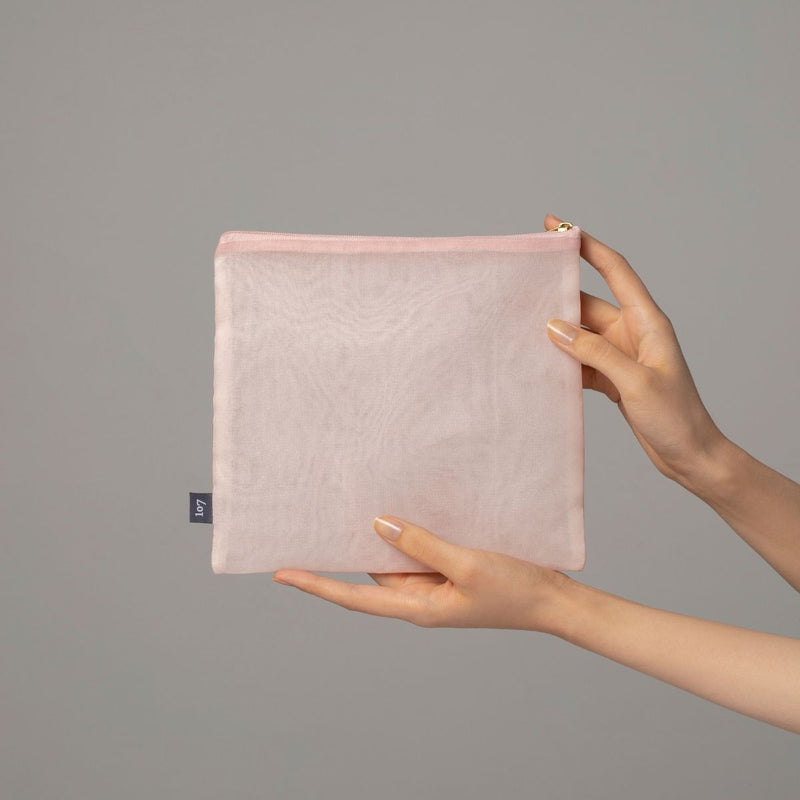 Bojagi pouch (showing size)