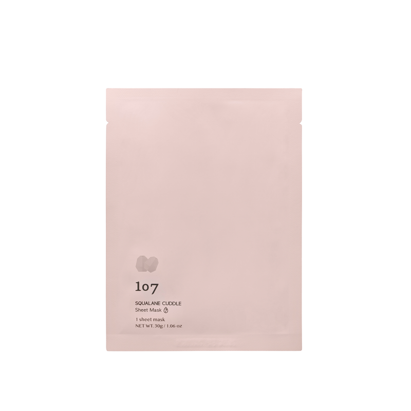 SQUALANE CUDDLE Sheet Mask (no background)