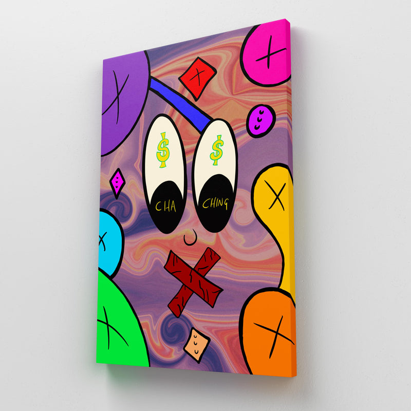 I See Dollar Signs - Perfectly Imperfect Colours (Canvas)