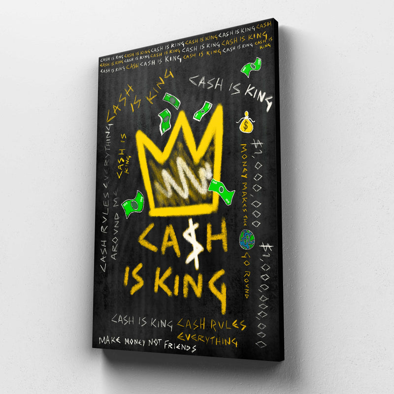 Cash is King (Canvas)