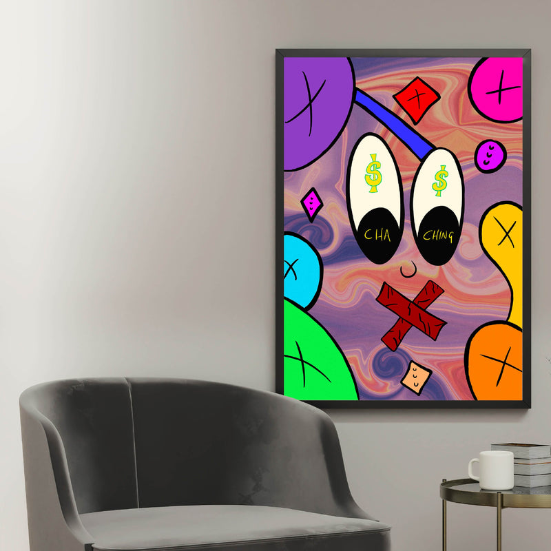 I See Dollar Signs - Perfectly Imperfect Colours (Art Print)