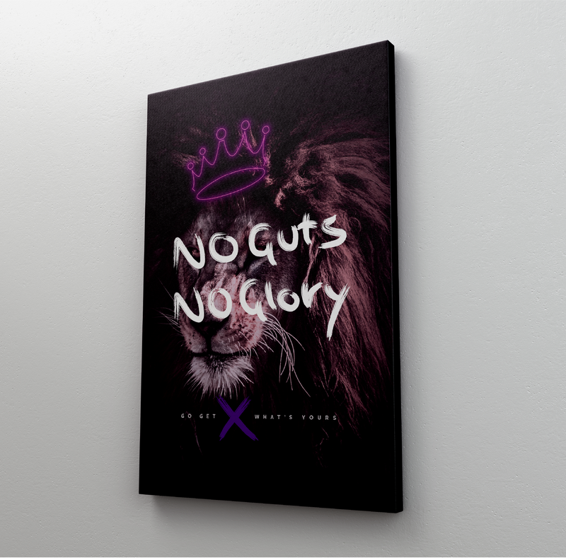 No Guts No Glory (Canvas)