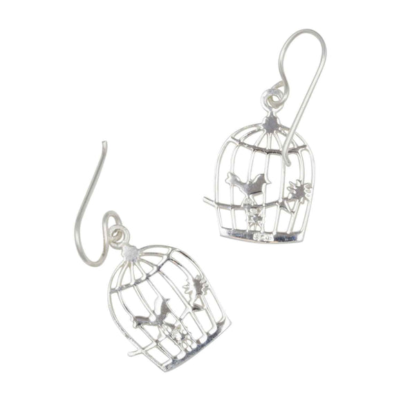 Songbird Cage Earrings