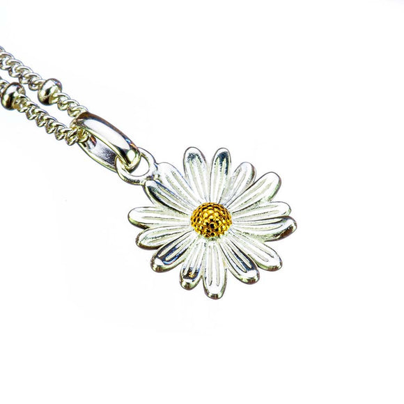 Daisy Birthflower Pendant - April