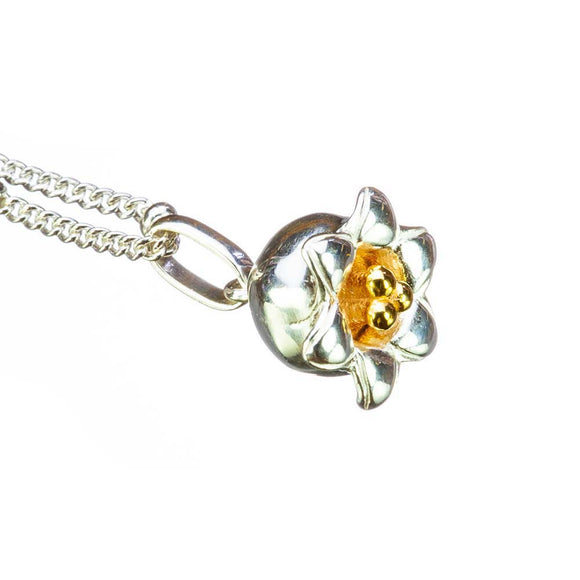 Lily of the Valley Birthflower Pendant - May