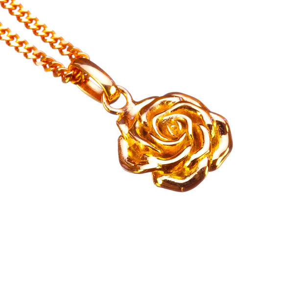 Rose Birthflower Pendant - June
