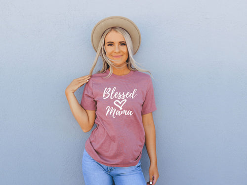 Blessed Mama Unisex Tee - The Terrace