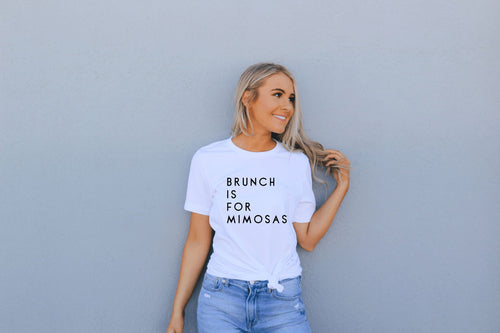 Brunch is for Mimosas T-Shirt - The Terrace