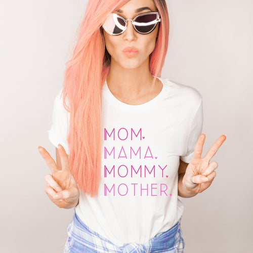 Mom Mama Mother Unisex T-Shirt The Terrace