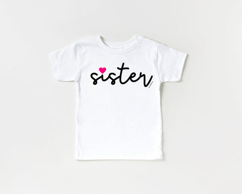 Sister Toddler Short Sleeve Tee - The Terrace
