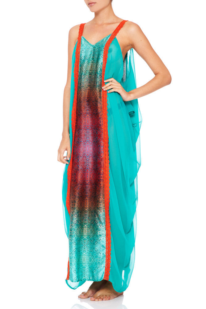 ASILAH Print Cut Out Kaftan