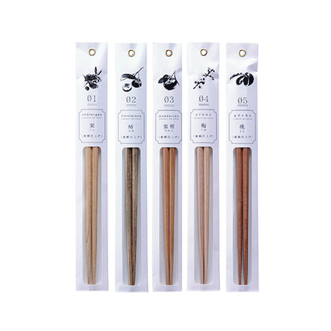 Tetoca Chopsticks - Natural Wood Chopsticks
