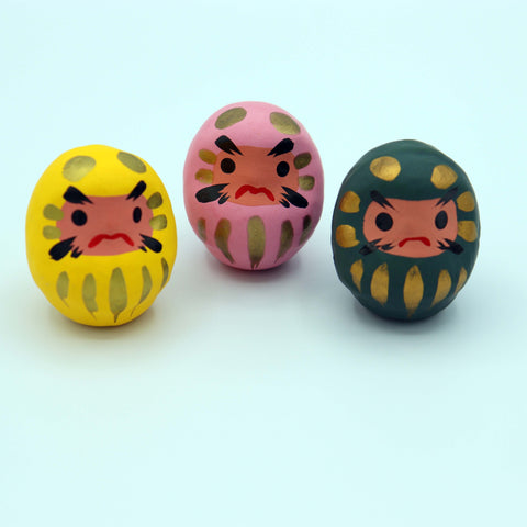Daruma (small) - 3 colours