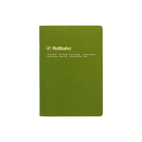 Rollbahn Notebook B6 (various colours)