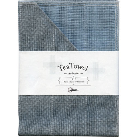 R.I.B Tea Towel with Binchotan Charcoal - Large (Various Colours)