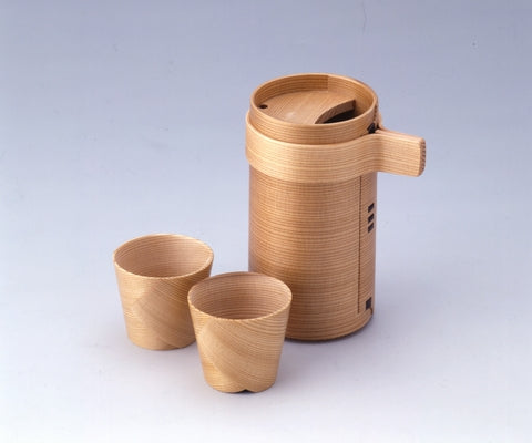 Magewappa Bent Woodware - Sake Set