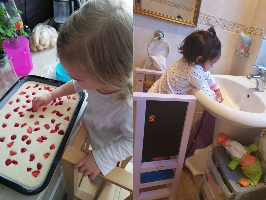 39 Best Kitchen helper tower pics :)