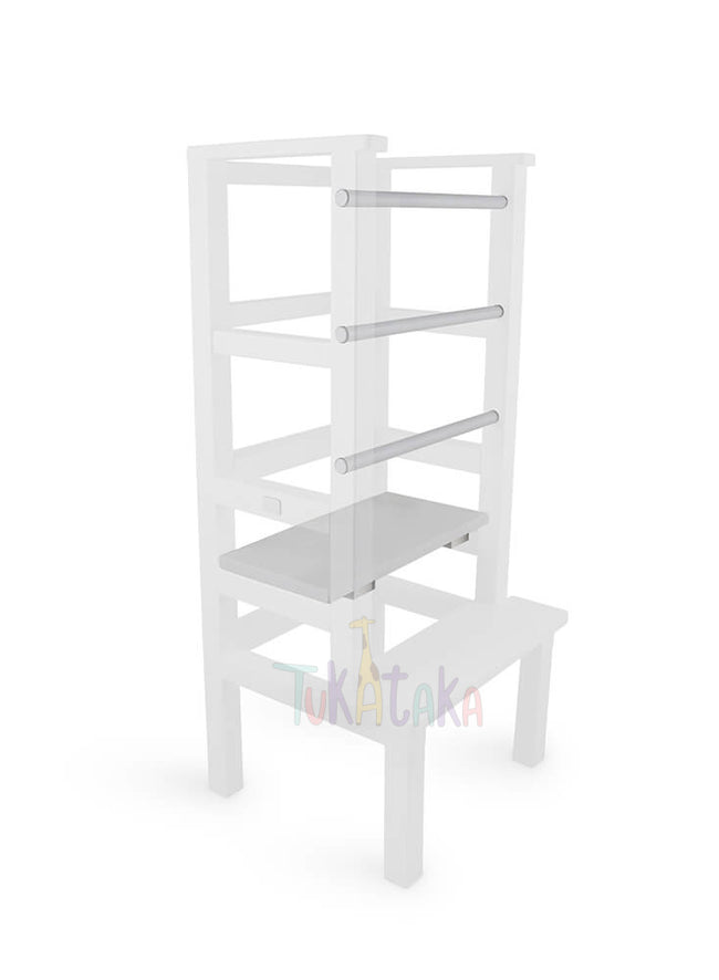 Step and bars colour selection - White