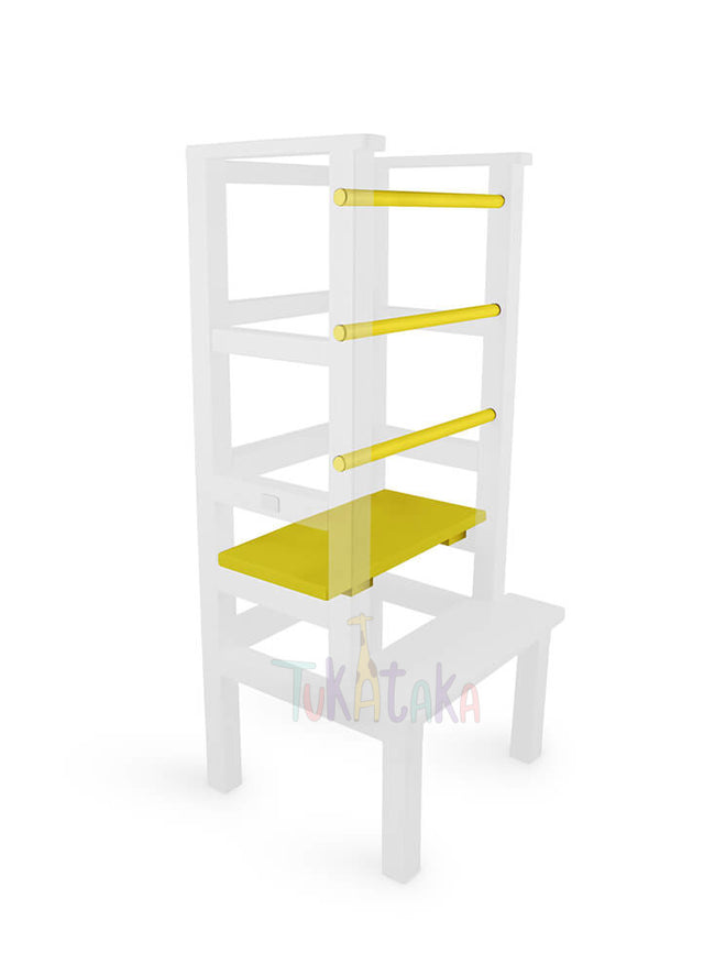 Step and bars colour selection - Yellow