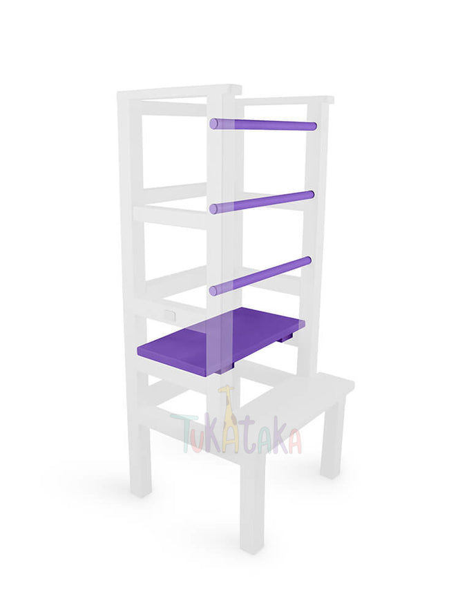 Step and bars colour selection - Purple