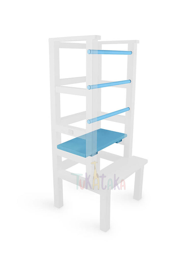 Step and bars colour selection - Light Blue