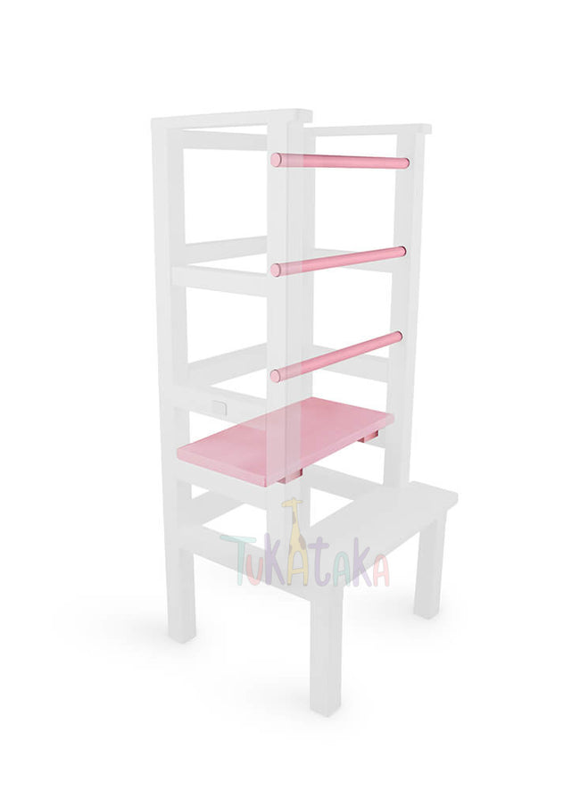 Step and bars colour selection - Pink