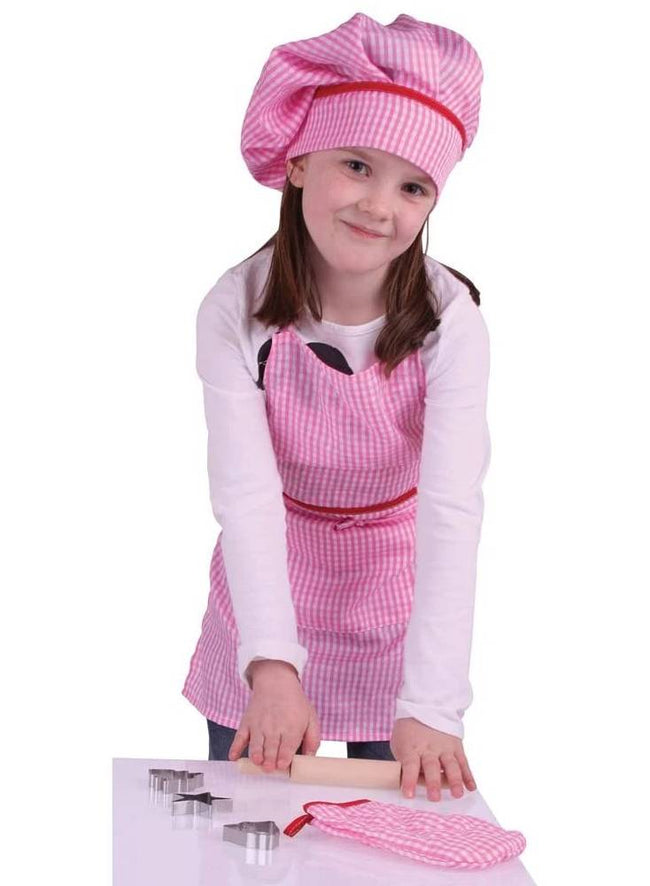 Chef's set - pink - Tukataka learning tower add-on