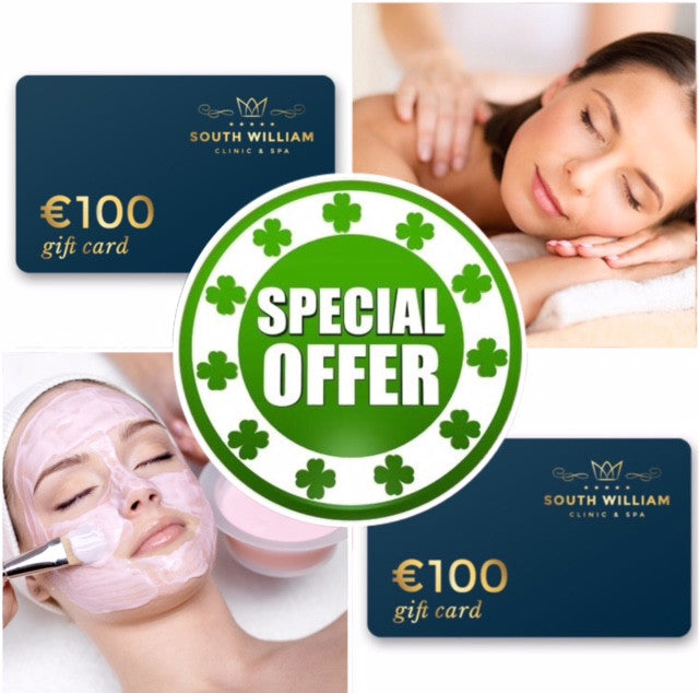 Paddy's Day Offer €200 Treatment Credit Only €149! (Save €51)