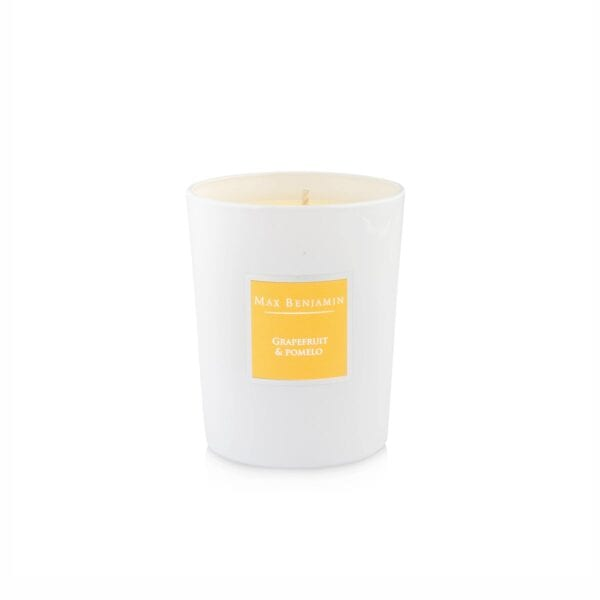 MAX BENJAMIN GRAPEFRUIT & POMELO LUXURY NATURAL CANDLE