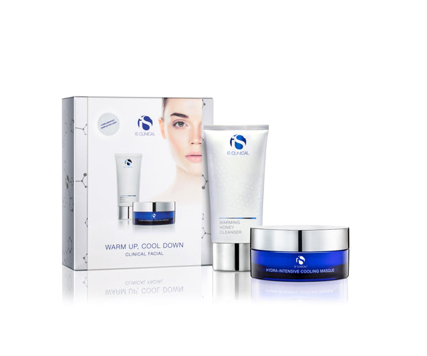 iS Clinical Warm Up, Cool Down Home Facial Kit (save €15)