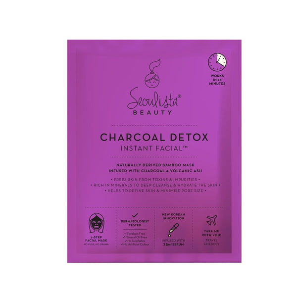Seoulista Beauty Charcoal Detox Instant Facial