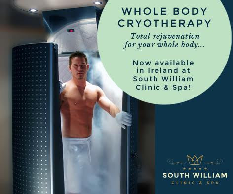 Cryotherapy Course of 5+1 FREE +2 Localised Cryotherapy Sessions (Save €210)