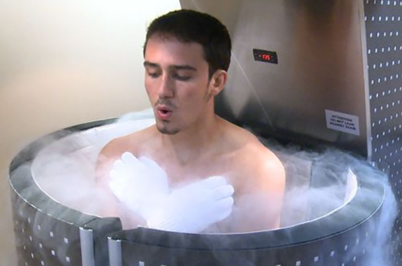 Skin Month Offer: Whole Body Cryotherapy Course of 10 +2 localised cryo sessions (save €391)