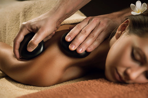 Hot Stone Back Massage & Express Facial 80 Mins (save €36)