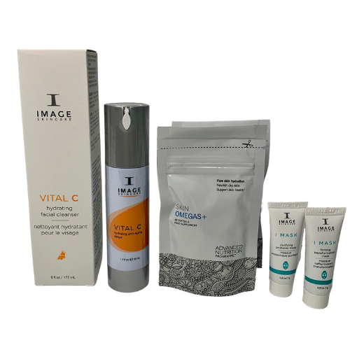 Black Friday Weekly Exclusive: IMAGE Winter Hydration Bundle course of two 50-Min Facials +Hydrating Skin Bundle (save €64)