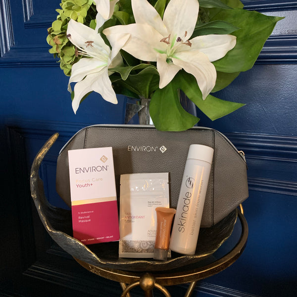 Environ Exclusive VIP Offer including 4 Active Vitamin or Collagen Power Facials +FREE Revival Masque (save over €240)