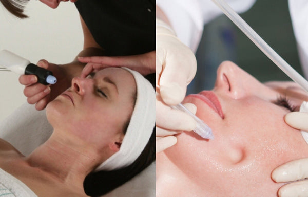 Ultimate 3-Step Facial: Microdermabrasion, JetPeel & LED Light Therapy 60-Mins