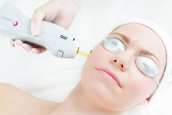 Laser skin rejuvenation for anti-ageing, pigmentation or redness single session