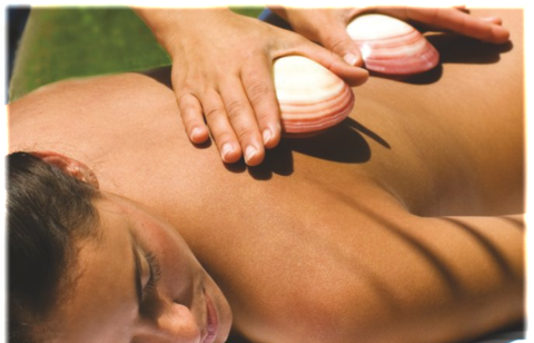 Lava Shell Full Body Massage & Scalp Massage 75 Mins (Save €20)