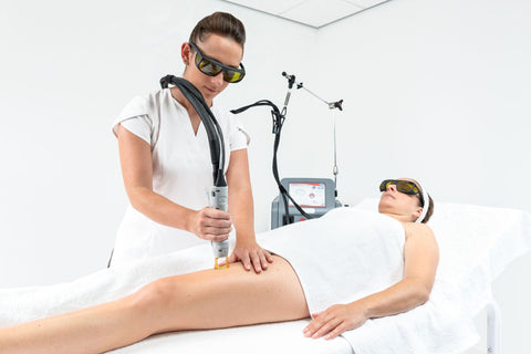 Laser thread vein removal for legs small to medium area 3+2 FREE! (save €200)