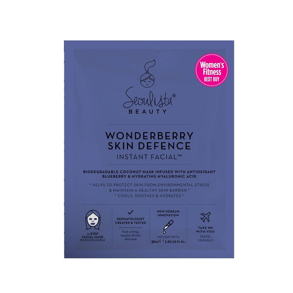 Seoulista Beauty Wonderberry Instant Facial