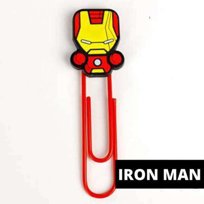 Marque Page Iron Man